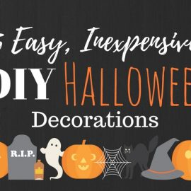 Five Easy DIY Halloween Decorations