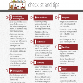 Home Maintenance Checklist and Tips